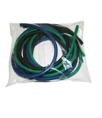 CanDo Low Powder PEP Exercise Tubing, 6' (Moderate Resistance)