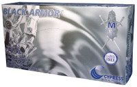 Black Armor Nitrile Exam Gloves, Powder-Free - Non-Sterile
