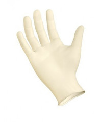 Best Touch Latex Exam Gloves with Aloe, Powder-Free - Non-Sterile
