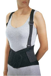 Industrial Back Support with Suspenders