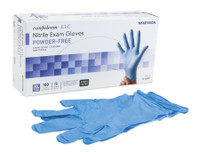 Confiderm 4.5C Nitrile Exam Gloves, Powder Free, Chemo Tested - Non-Sterile