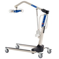 Invacare Reliant 450 Battery-Powered Patient Lift with Power-Opening Base
