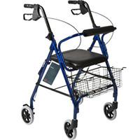 """Roscoe Medical Rollator - 32.5"""" to 37"""" Handle Height"""