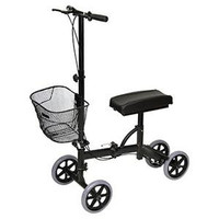 Professional Medical Imports Steerable Knee Walker with Basket