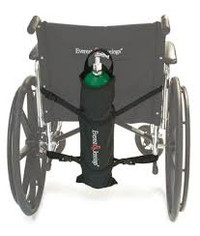 Graham Field Wheelchair Carry Pouch for Oxygen Cylinders