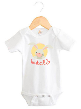 Bunny Baby Name One Piece - Isabella