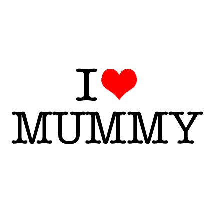 I Heart Mummy Onesie Personalised Baby Gifts Word On Baby