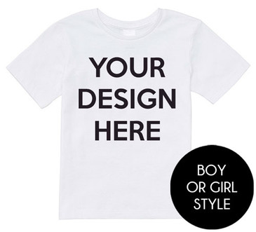 Design your own boy tee