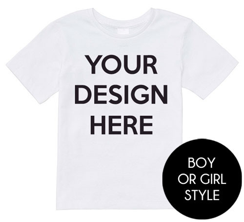 Design your own toddler t shirt personalised baby for Make your own t shirt design at home
