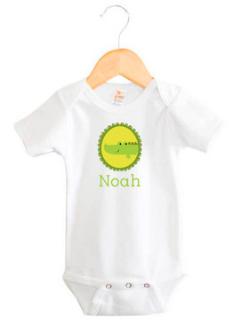 Personalised baby name onesie