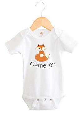 Personalised baby name onesie - Cameron