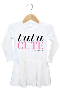 Personalised Tutu Cute Baby Dress - Arabella