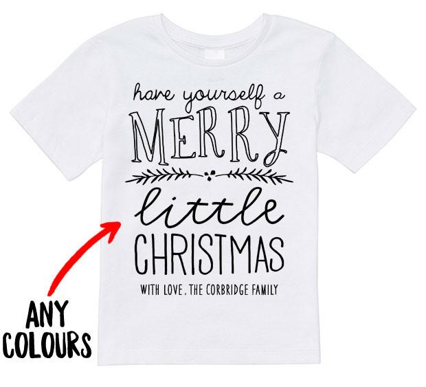 Santa T Shirt For Kids