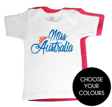 Miss Australia Baby T-shirt