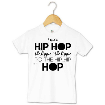 Hip Hop Hop Kids Easter Tee