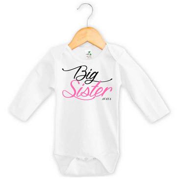 Personalised Big Sister Onesie