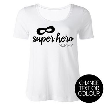 Super Hero Mummy Top