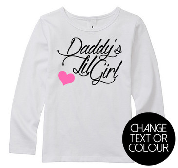 Daddy's Lil Girl long top