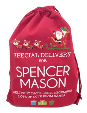 Limited Edition Personalised Santa Sack