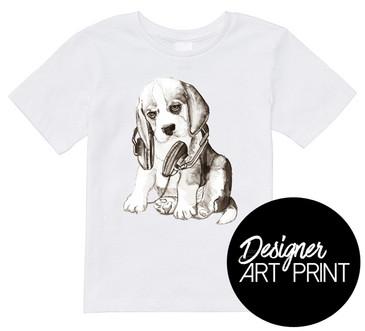 Sound Hound Art Baby T-shirt