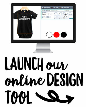 Design Your Own Onesie, Toddler Tee or Baby Tee