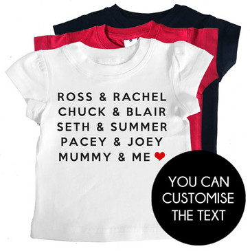 Famous Love Couples Tee