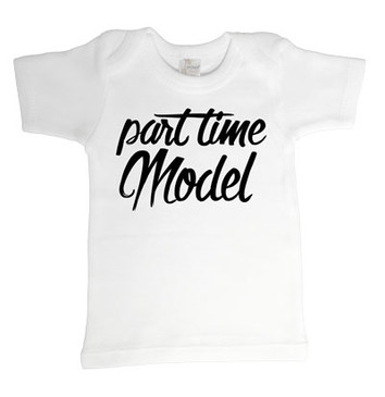 SALE Part time model baby tee - 12-18m