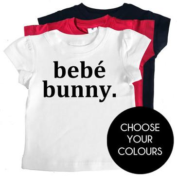 Bebé bunny girl tee