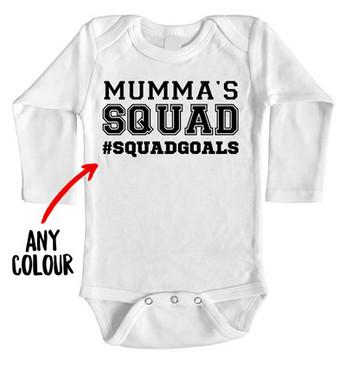 Mumma's Squad Squadgoals Onesie