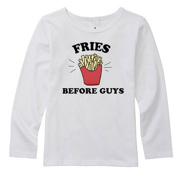 FRIES BEFORE GUYS top