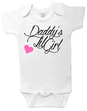 SALE Daddy's Lil Girl onesie - 6-12m