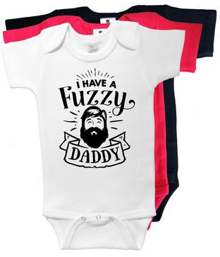 I have a fuzzy daddy onesie