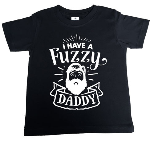 I have a fuzzy daddy t-shirt black