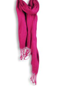 Pashmina Shawl in Hot Pink