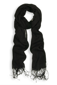 Black Light Viscose Scarf