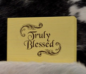 Word Block-Truly Blessed