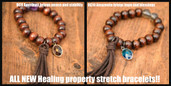 All new Healing Property Stretch Bracelets