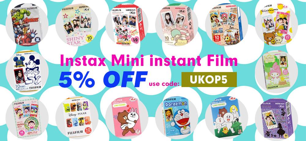 Fujifilm instax instant cartoon film