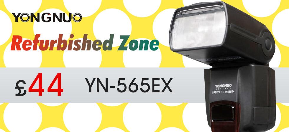 yongnuo YN-565ex refurbished zone