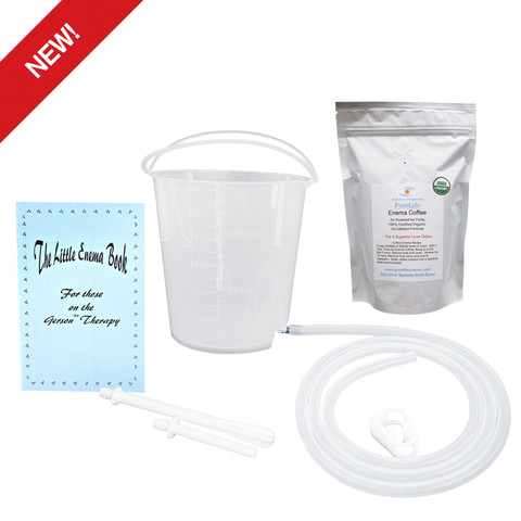 Coffee Enema Kit Plastic Enema Kit Enema Coffee  Gerson Coffee Enema Suppies
