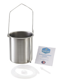 Purelife Enema Kit / 3 QT/  304 Stainless Steel / Made in USA
