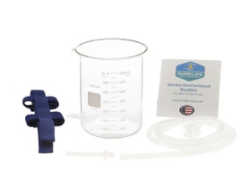 glass enema bucket clear glass enema jar