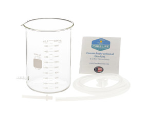 Glass Enema Kit- 2 Quart - No Harness
