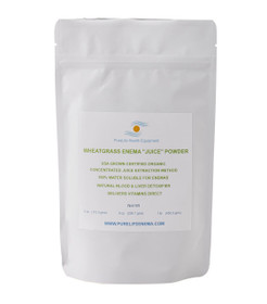 Certified Organic Wheatgrass Juice Powder Enema Wheatgrass