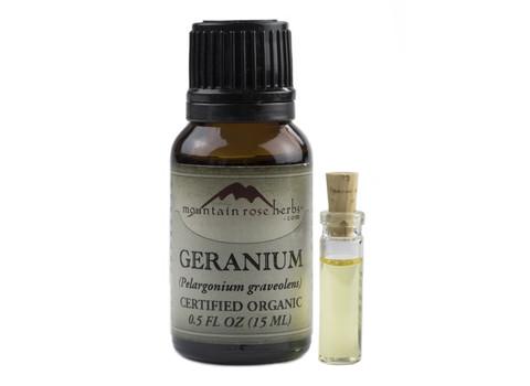 geranium organic essential oil