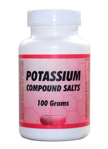 Potassium Compound Salts Potassium 3 for Gerson Therapy
