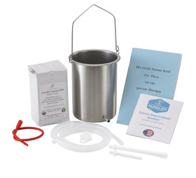 Coffee Enema Kit - 2 Qt - Medium Roast - 1 Lb