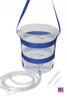 Large plastic enema bucket  enema kit colon cleanse kit home enema kit