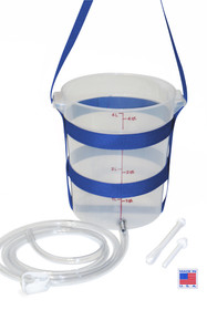 Large plastic enema bucket  enema kit colon cleanse kit home enema kit