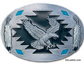 Flying Eagle with Feathers Buckle